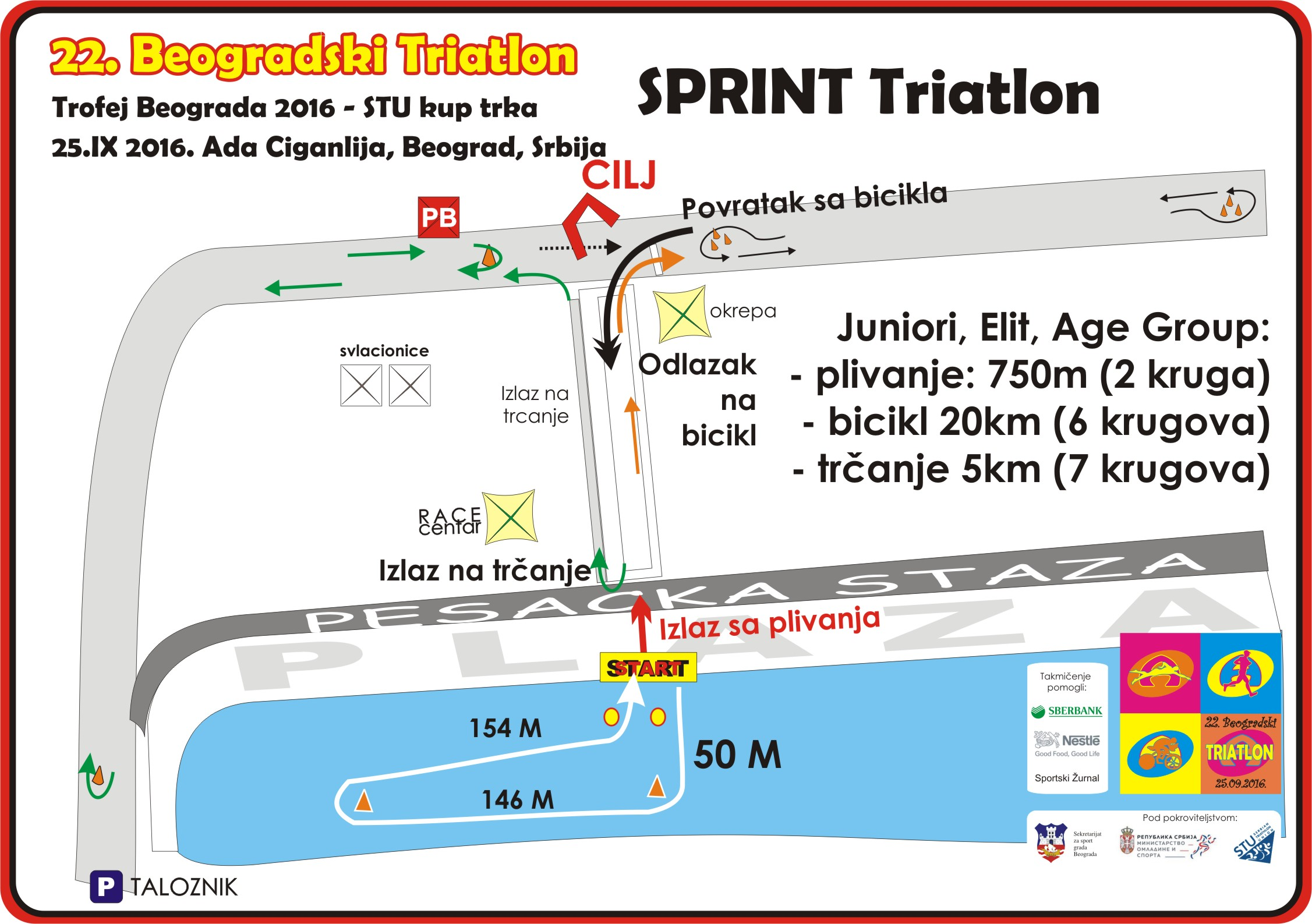 22 Beogradski Triatlon Sprint 3 A 4 U News